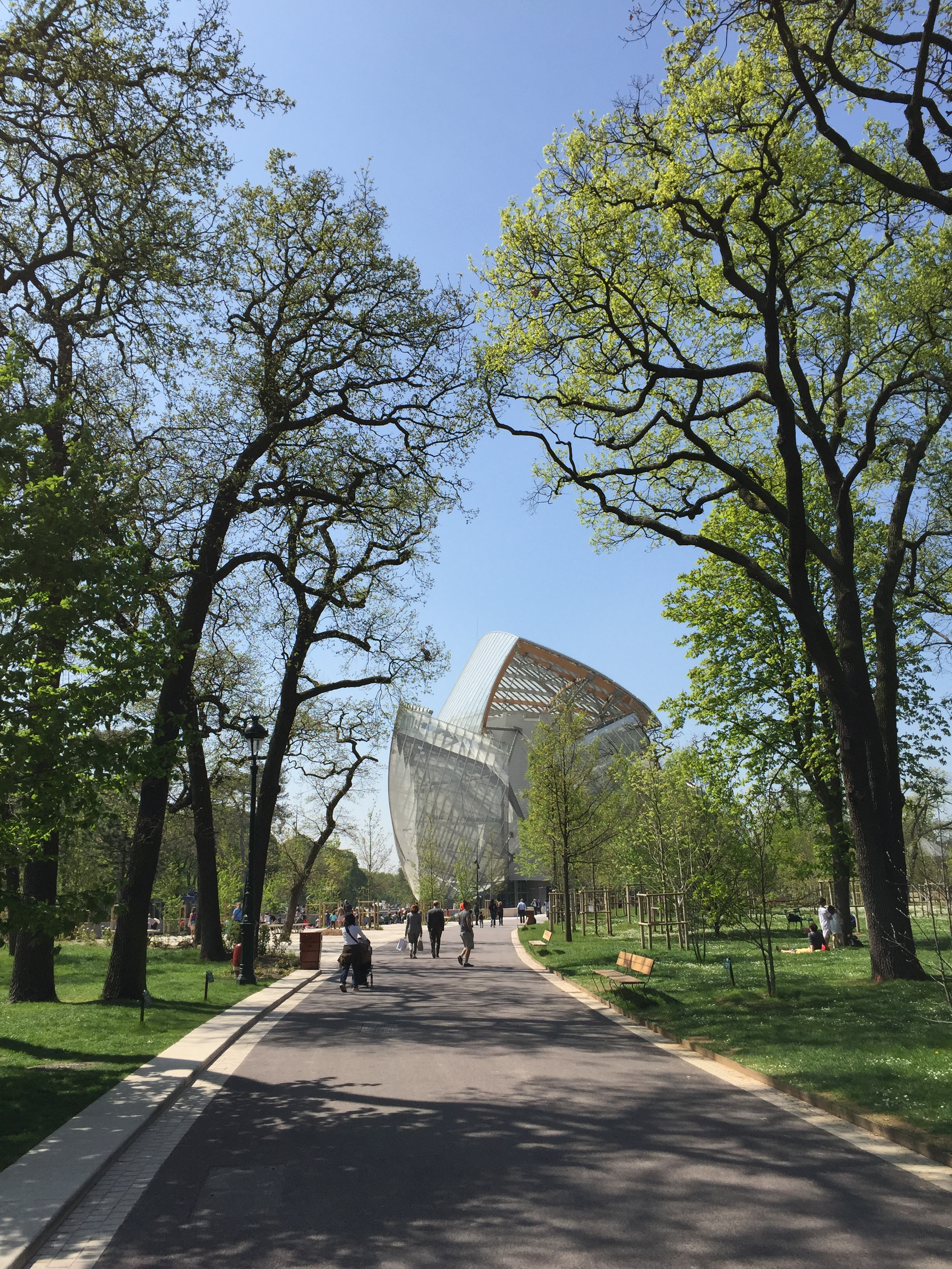 Fondation Louis Vuitton e Jardin D'Acclimatation