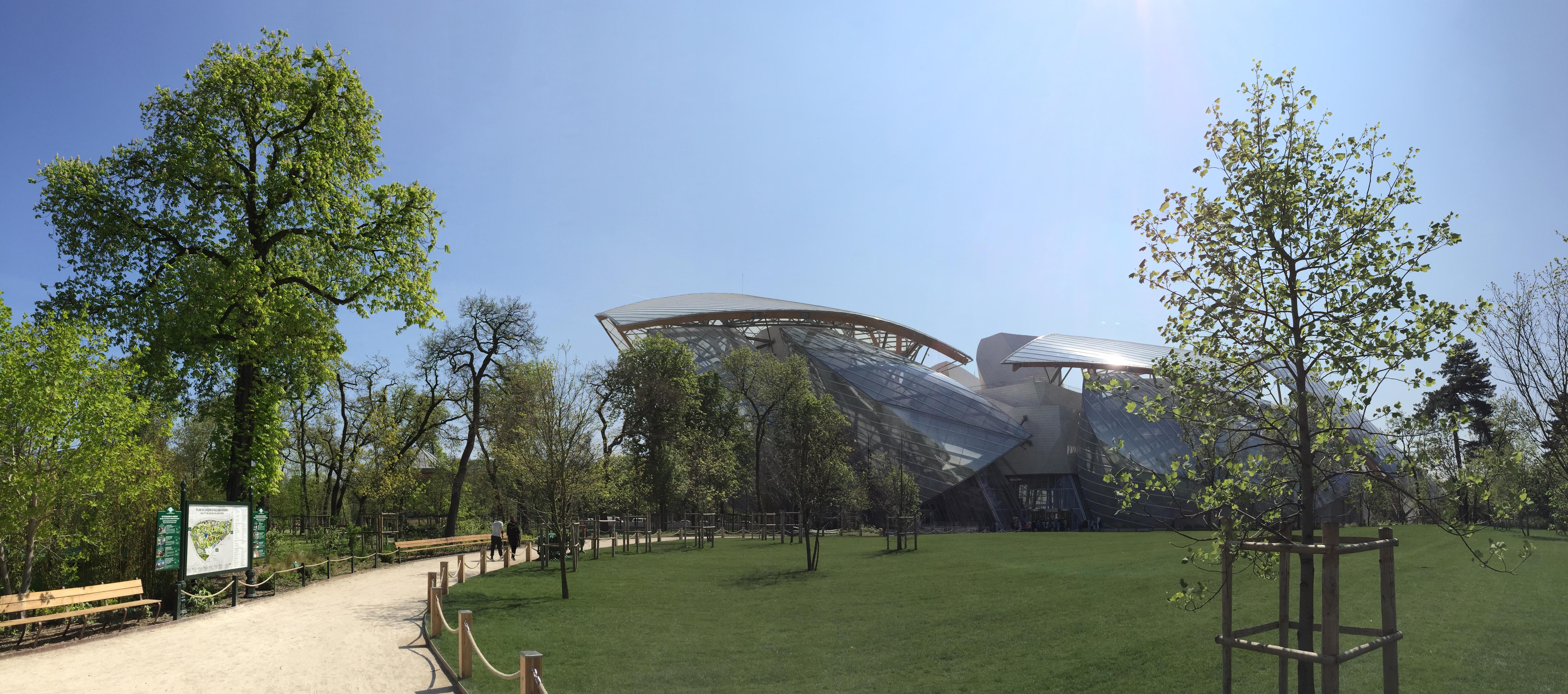 Jardin D'Acclimatation e Fondation Luis Vuitton,